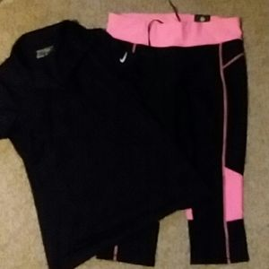 Nike top & Xersion bottoms